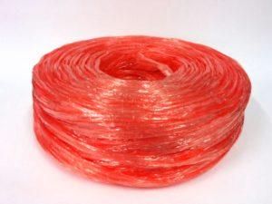 เชือกฟางเส้นใหญ่ม้วนสีแดง เชือกฟางRTP