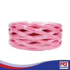 เชือกฟางขนาดกลางสีชมพู RTP009 เชือกฟางพร้อมส่ง เชือกฟาง ฟางราคาถูก (5)
