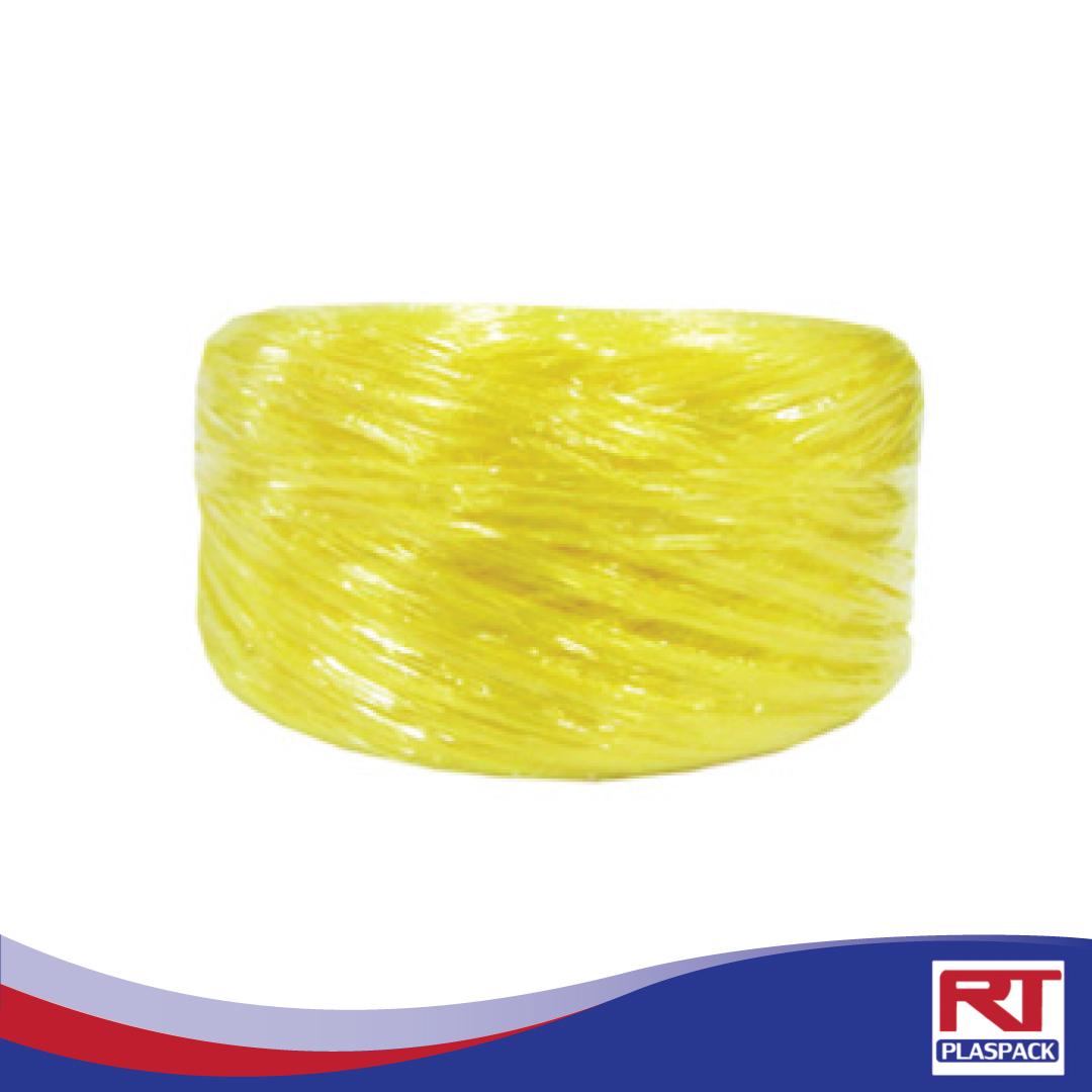 เชือกฟางเล็กเหลืองเชือกฟางจากโรงงงานรุ่งทิพย์RTP007