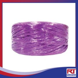 เชือกฟางเล็กสีม่วง RTP004 เชือกฟางราคาถูกจากรุ่งทิพย์พลาสแพค เชือกฟางราคาส่ง เชือกฟางคุณภาพ ใบเสนอราคาเชือกฟาง จัดจำหน่ายเชือกฟาง