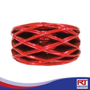 เชือกฟางลวดสีแดง RTP0043
