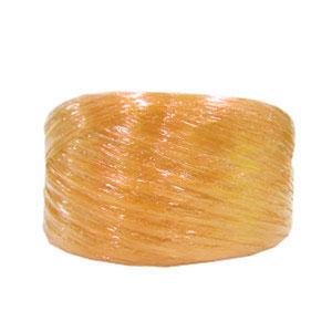 เชือกฟางเส้นเล็กเชือกฟางสีส้มอ่อน