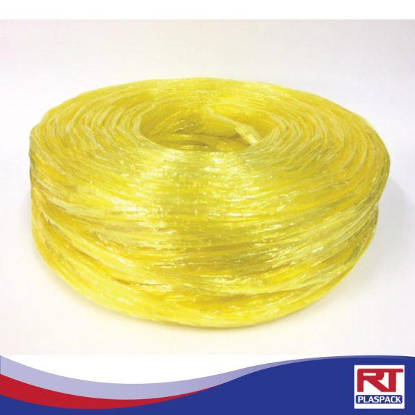เชือกฟางขนาดใหญ่เหลือง RTP0023 เชือกฟางพร้อมส่ง