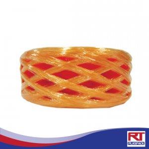 เชือกฟางกลางขนาดกลางสีส้ม RTP0012 เชือกฟางพร้อมส่ง