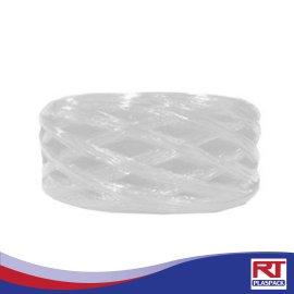 เชือกฟางขนาดกลางสีขาว RTP0011 เชือกฟางคุณภาพดี