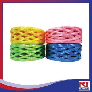เชือกฟางเส้นกลาง บริษัท RTP เชือกฟาง เชือกโยงทุเรียน เชือกฟางRTP เชือกฟางคละสี เชือก