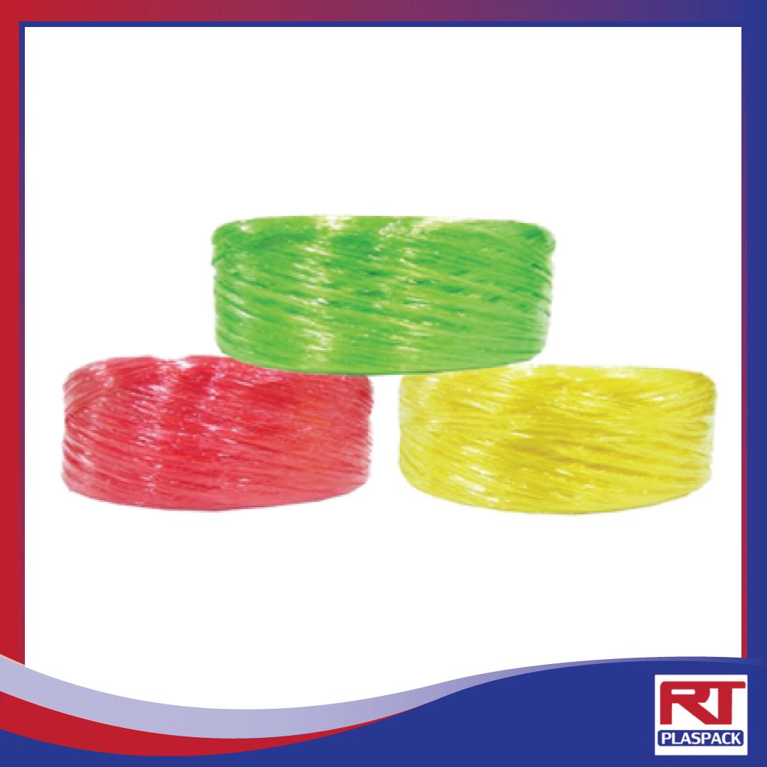 เชือกฟางเส้นเล็ก บริษัท RTP เชือกฟาง เชือกโยงทุเรียน เชือกฟางRTP เชือกฟางคละสี เชือกฟางลวด